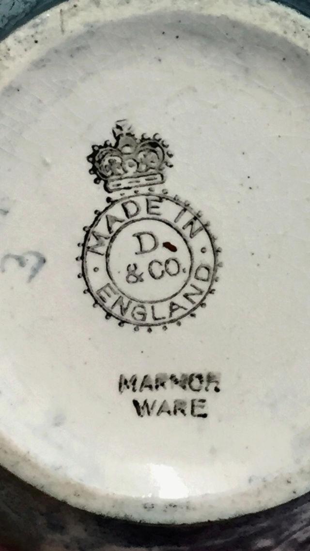 Marmor ware, D & Co - Which company?  05cdf110