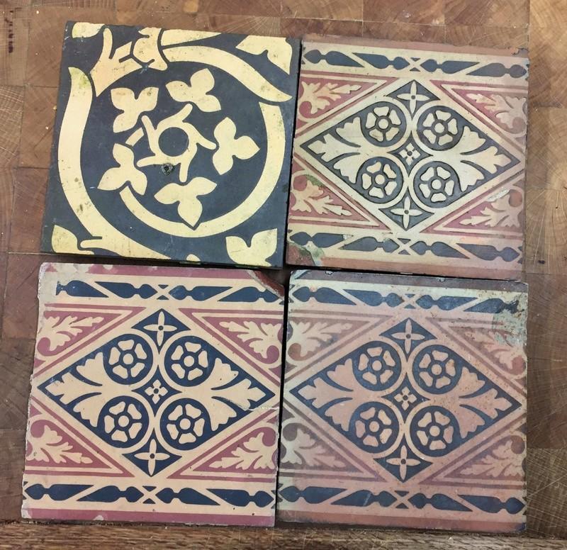 Tiles: MAW & Co, Broseley, Jackfield, Salop (Shropshire). 5be82e10