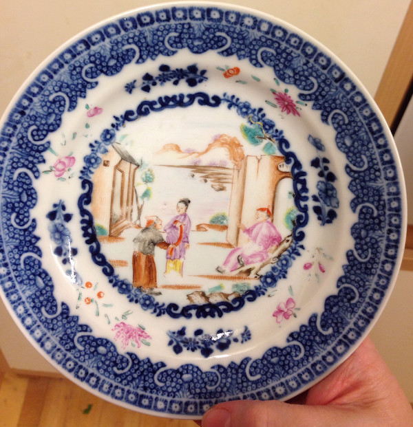 Chinese Qianlong export porcelain  Chines11