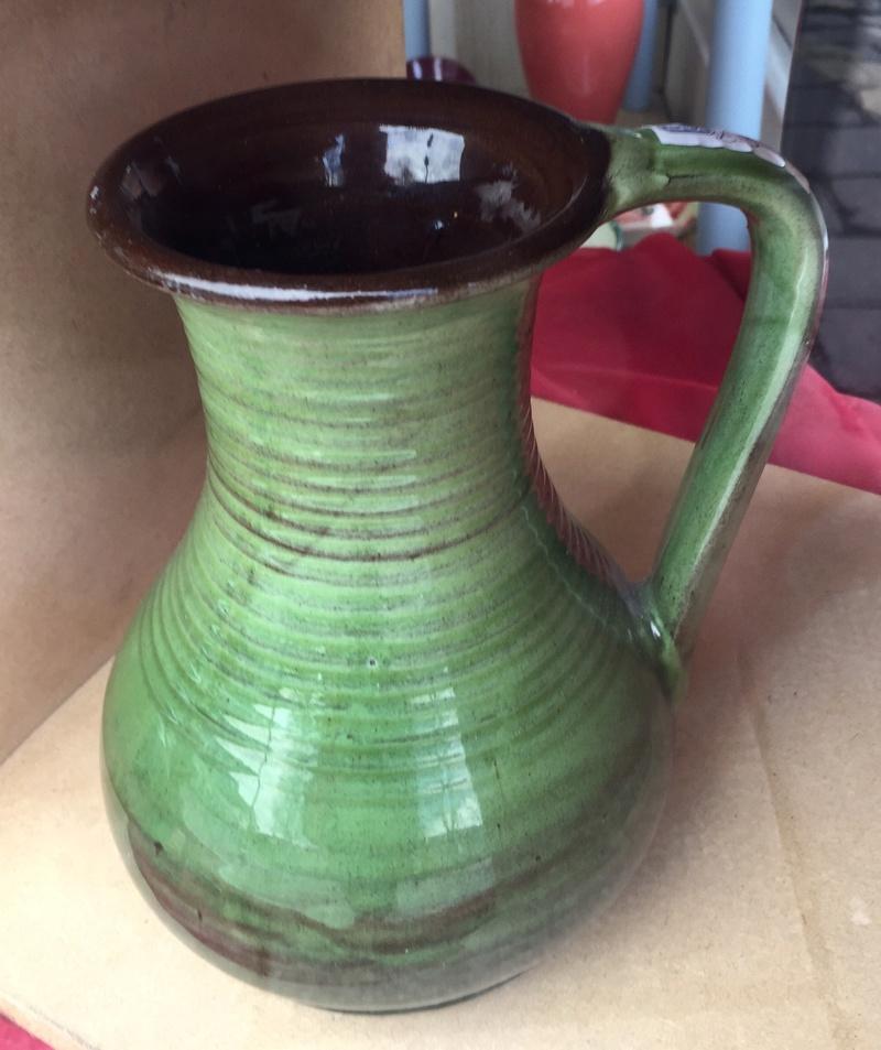 Green jug - Rye  Pottery? Ubeda Pottery?  De8cfb10