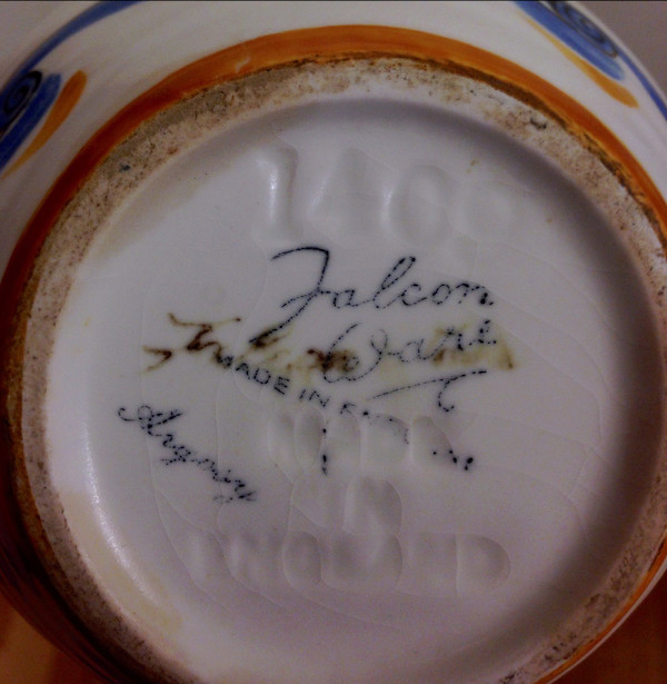 Falcon Ware. Thomas Lawrence (Longton) Ltd. Falcon12