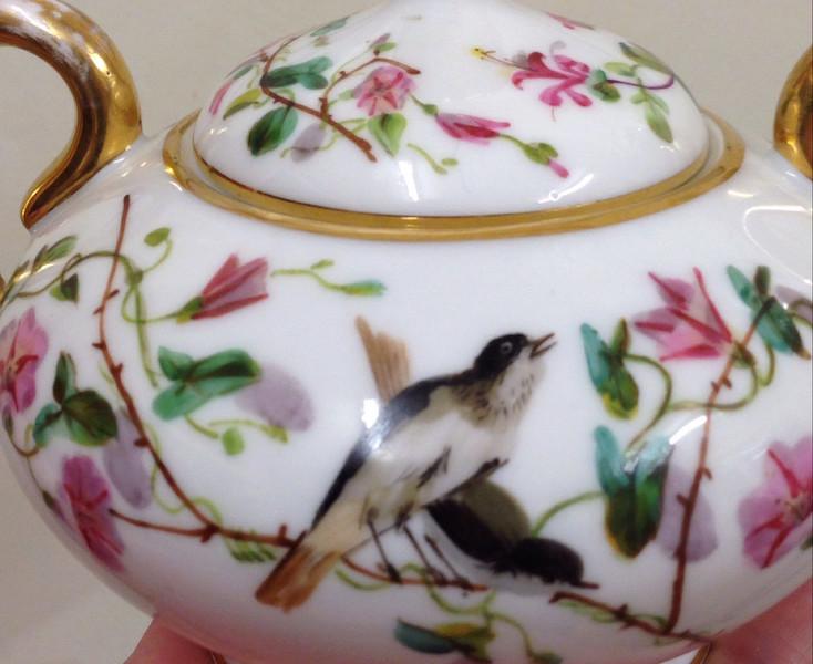 Sugar bowl - Demartial &  Tallandier of Limoges Img_1612