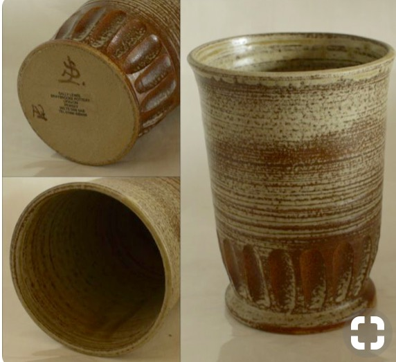 Sally Lewis, Braybrooke Pottery - SL mark  Img_6013