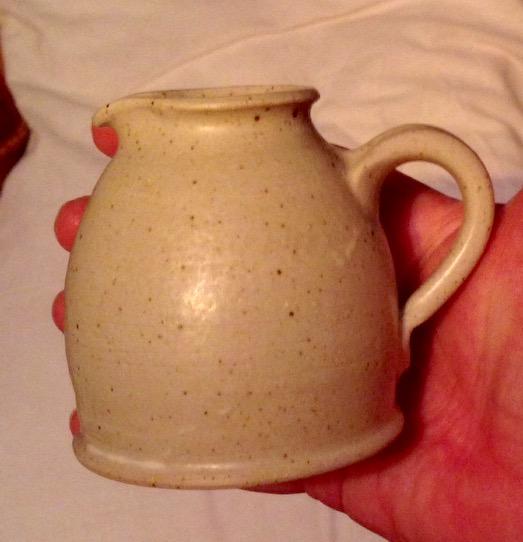 Milk jug - Taurus Crafts, Forest of Dean: Camphill Village Trust  Img_6330