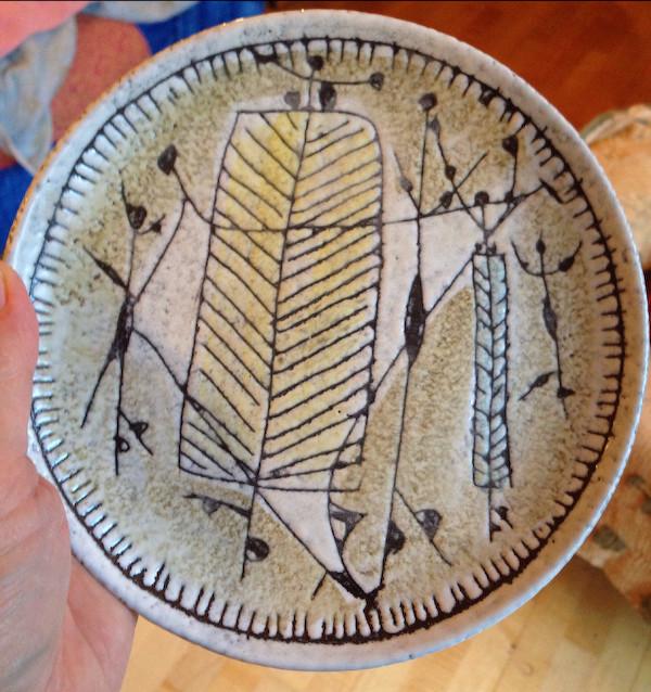 Italian artisan plate Img_6822