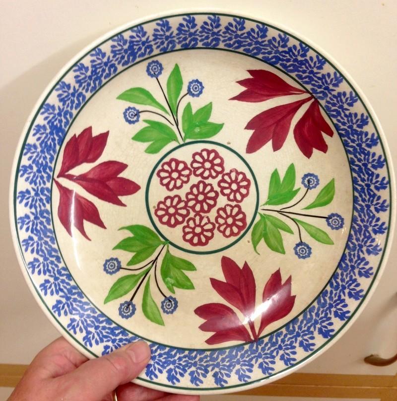 19thC dish - French? Adams?  Img_8627