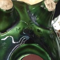 Green glazed pig moneybox  10577e10
