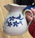 Pottery jug signed - St Emilion?  5fe8e510