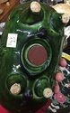 Green glazed pig moneybox  85f26010
