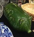 Green glazed pig moneybox  A334f410