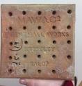 Tiles: MAW & Co, Broseley, Jackfield, Salop (Shropshire). B1811510