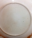English? Blue & White 17th Century? Tin Glazed? Spongeware plates  C1609c10