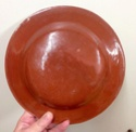 Unmarked slipware dish with Motto  Img_0814