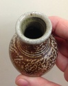 Miniature salt glazed vase - Jason Braham?  Img_3525