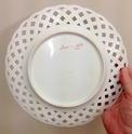 Pierced plate by Charles Pillivuyt, retailed by Escalier de Cristal, Paris  Img_7225