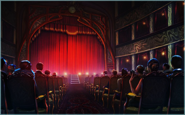 """Театр """"beauté trompeur"""" Eie11"""