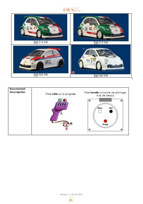 Règlement du Championnat digital NSR Abarth 500 Abarth10