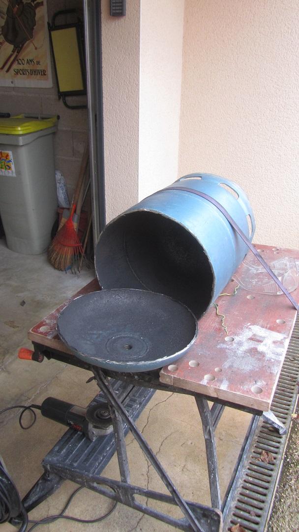 projet / réalisation d'un four à métau Img_7249
