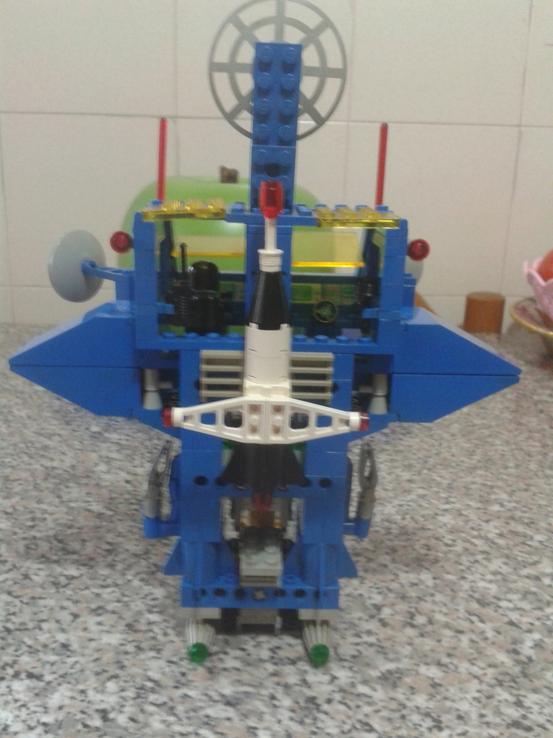 LEGO Classic Space 6951 Robot Command Center 1984 LOOSE Center10