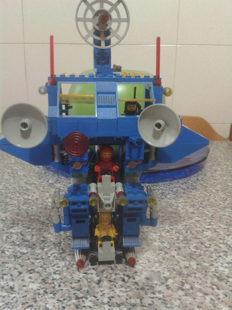 LEGO Classic Space 6951 Robot Command Center 1984 LOOSE Center11