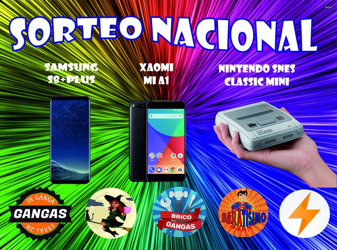[FINALIZADO] Samsung Galaxy S8+, Xiaomi Mi A1 y SNES Classic Mini Sorteo11