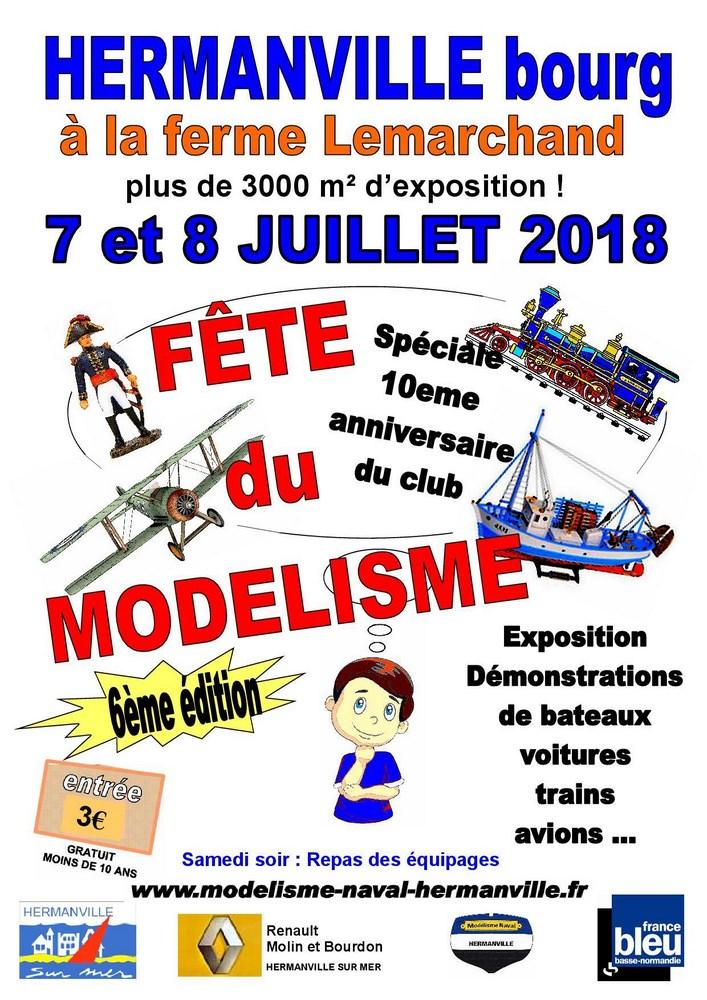 6 Fête du Modélisme - HERMANVILLE SUR MER (14) - 6 et 7 JUILLET 2018 6_fete11