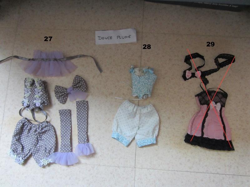 (V) Vêtements MSD + Ellowyne + Tonner 27-2912
