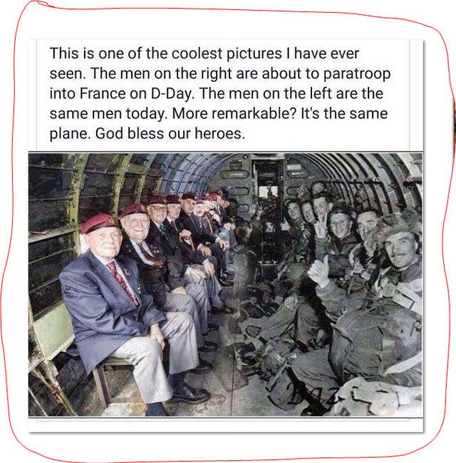 """Les Paras de 1944 : ILS ONT RÉPONDU """" PRÉSENTS ! """"  Hyros10"""