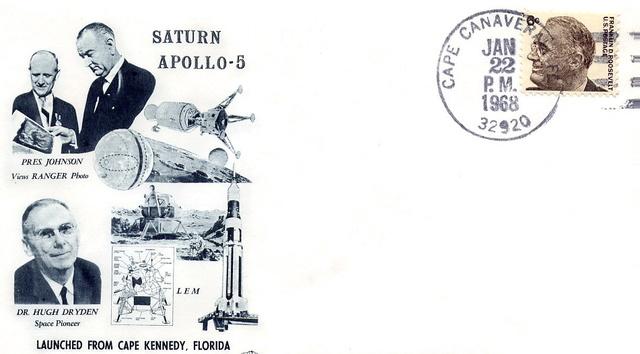 50ème anniversaire Apollo 5 / AS-204 - 22 janvier 1968 1968_010