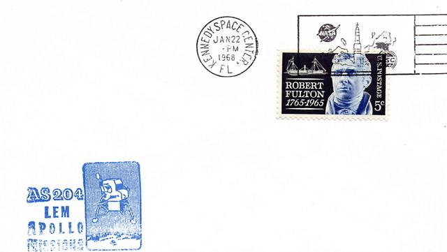 50ème anniversaire Apollo 5 / AS-204 - 22 janvier 1968 1968_011