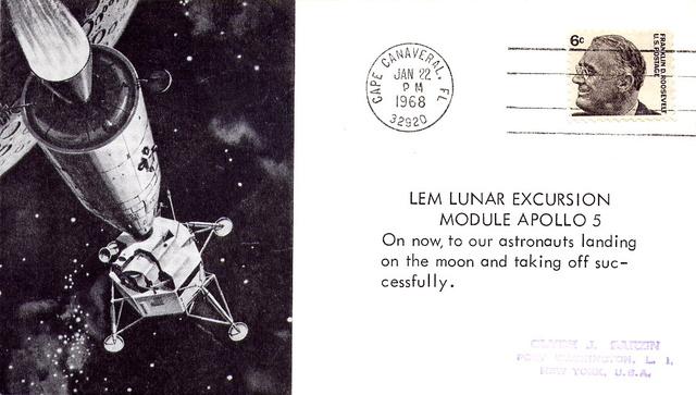 50ème anniversaire Apollo 5 / AS-204 - 22 janvier 1968 1968_012