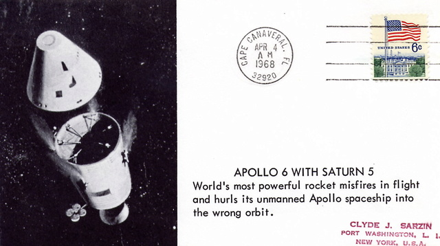 50ème anniversaire Apollo 6 / AS-502 / 4 avril 1968 1968_016