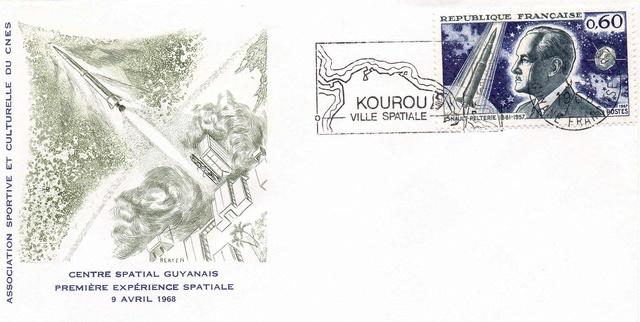 50ème anniversaire du premier lancement d'une fusée depuis Kourou - 9 avril 1968 1968_019