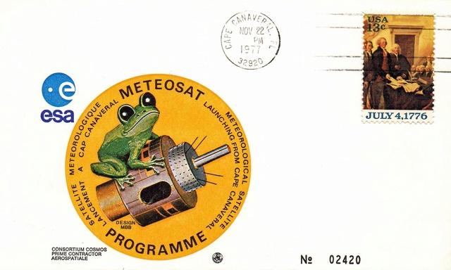 40ème anniversaire du lancement du premier satellite Meteosat / 1977-2017 1977_110