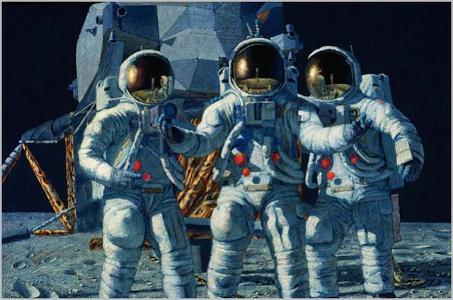 Disparition de l'astronaute Alan Bean (1932-2018), 4ème homme à marcher sur la Lune 1992_c10