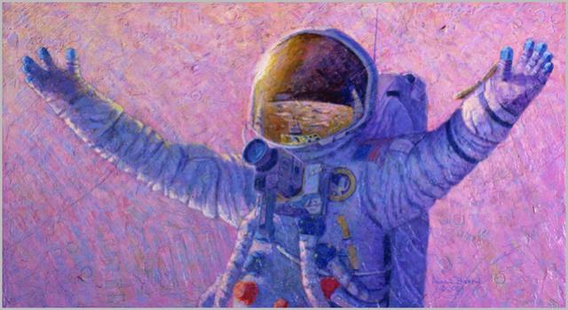 Disparition de l'astronaute Alan Bean (1932-2018), 4ème homme à marcher sur la Lune 2003_h10