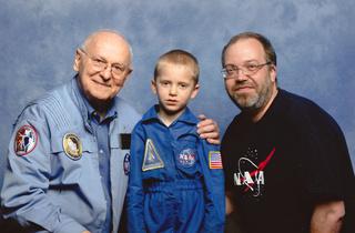 Disparition de l'astronaute Alan Bean (1932-2018), 4ème homme à marcher sur la Lune 2014_010