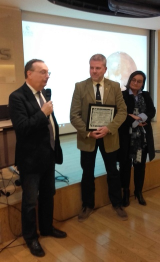 Remise du Prix Aubinière de l'IFHE (Institut Français d'Histoire de l'Espace) au siège du CNES - 7 décembre 2017 20171210