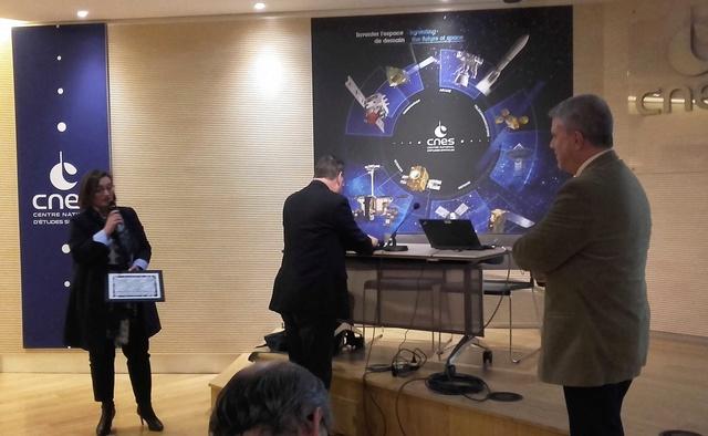 Remise du Prix Aubinière de l'IFHE (Institut Français d'Histoire de l'Espace) au siège du CNES - 7 décembre 2017 20171211