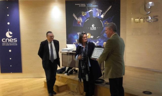 Remise du Prix Aubinière de l'IFHE (Institut Français d'Histoire de l'Espace) au siège du CNES - 7 décembre 2017 20171213