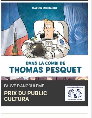 [BD] Dans la combi de Thomas Pesquet par Marion Montaigne 2018-010