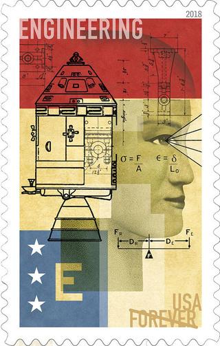 La poste américaine va émettre en 2018 une série STEM (avec un timbre Apollo) 2018_s10