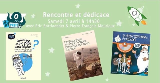 7 avril 2018 - Séance de dédicaces des auteurs Pierre-François Mouriaux et Eric Bottlaender à Paris (75) 29573010