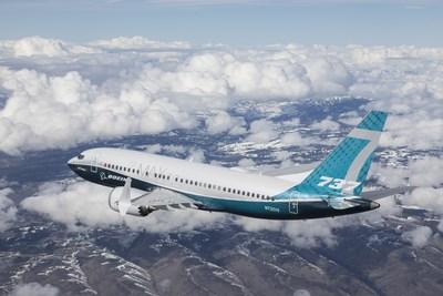 1er vol du Boeing 737 MAX 7 737_ma10