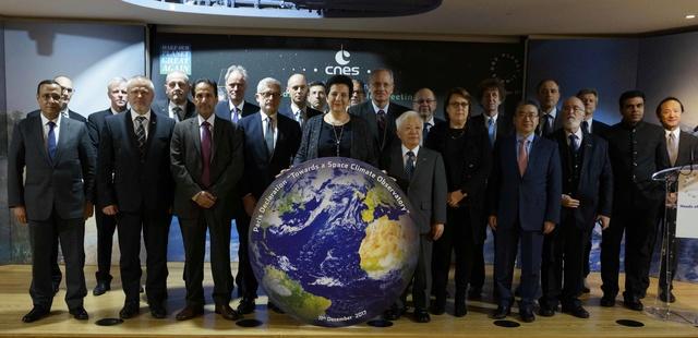11 décembre 2017 - Adoption de la Déclaration de Paris et proposition de création d'un Observatoire Spatial du Climat  _dsc3610
