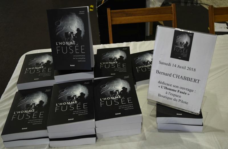 [Livre] L'Homme Fusée par Bernard Chabbert (réédition) _dsc6611