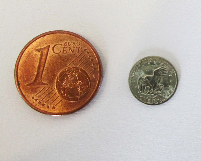 Pièce de 1$ des USA - Logo de la mission Apollo 11 Aaa_jo11