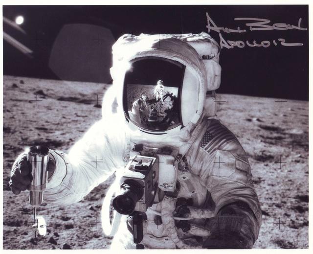Disparition de l'astronaute Alan Bean (1932-2018), 4ème homme à marcher sur la Lune Apollo13