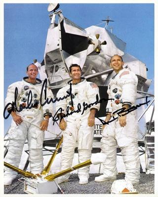 Disparition de l'astronaute Alan Bean (1932-2018), 4ème homme à marcher sur la Lune Apollo14