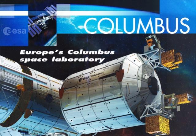 10ème anniversaire du module européen Columbus - 7 février 2008 Columb11